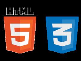 HTML5-/ CSS3-Logo